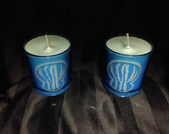 Scented Soy and Beeswax Jar Candles
