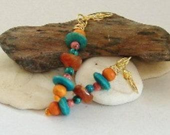 Florida Colors Dangle Earrings