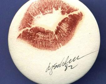 Lipstick Lips Large Pin