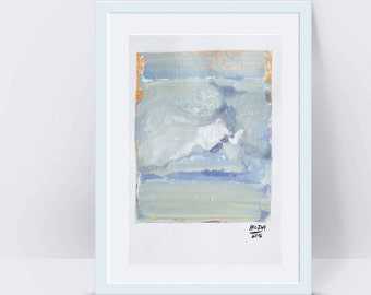 Art painting Abstract painting Landscape painting Abstract wall art White painting Pastel painting Blue painting Abstract art Original art