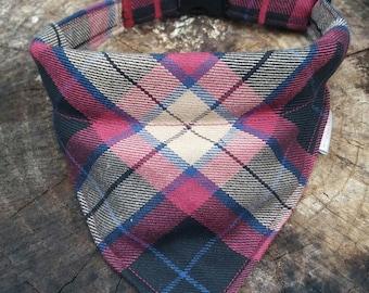 Personalized Dog Bandana - Personalized Dog Collar - Plaid Dog Collar - Plaid Bandana - Personalized Dog Collar - Dog Bandana - Buffalo Dog