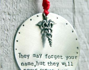 Nurse Ornament - Baby Nurse Gift - Gift for Nurse - Nurse Practitioner Ornament - Nurse Gift - Nursing Student Gift - Doctor Gift