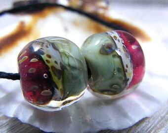 Handmade Lampwork Beads - Earring Pairs ~ Naomie  ~ Boho~Earring Pairs~Gypsy Style