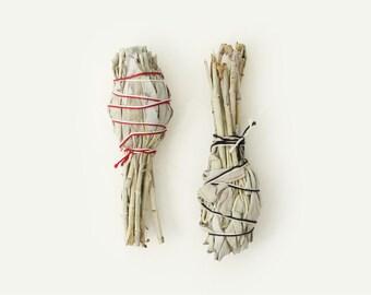 White California Sage Incense / Smudge Stick
