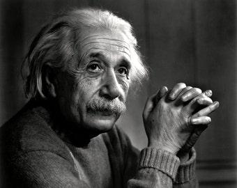 Theoretical Physicist Albert Einstein - 5X7, 8X10 or 11X14 Photo (EP-965)