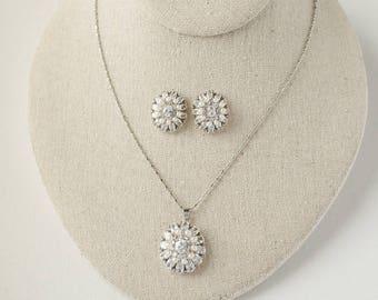 Bridal Necklace Set, Wedding Necklace, Freshwater Pearl Necklace, Wedding Jewelry