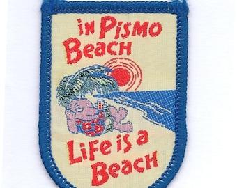 Vintage Pismo Beach California Patch