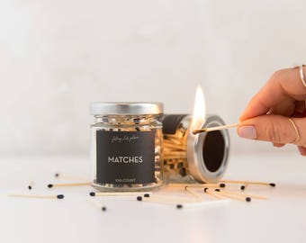 Jar of matches - 100 count