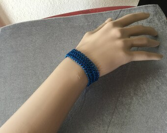 Blue Moon European 4-in-1 Chainmaille Bracelet