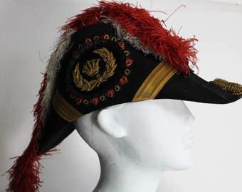 Vintage Odd Fellows Uniform Hat / Regalia