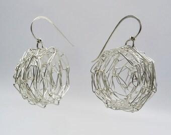 Nest Earrings - Big