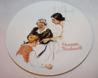 Norman Rockwell's 1981 The Broken Window First Issue Limited Edition