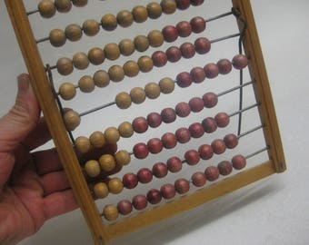 Free Shipping Primitive Vodka Abacus Retro Calculator Abacus Old School German vodka made Germany 1930 patina Decoration Proffesore