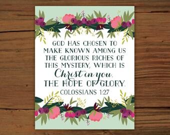Colossians 1:27 Print