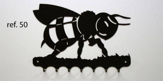 Hangs key pattern metal: Bee