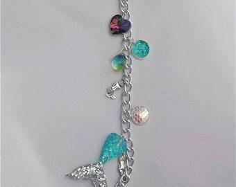 Mermaid Planner Charm// Bag Charm// Purse Charm