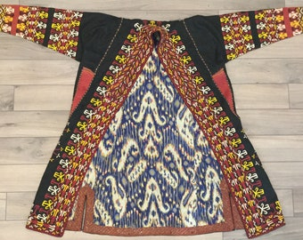Vintage ancien persan Tribal Textile Unique