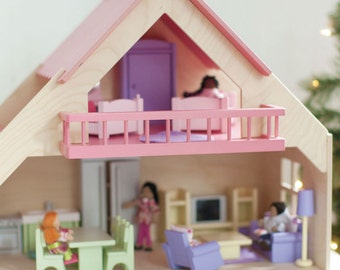 Butterfly Bungalow Dollhouse