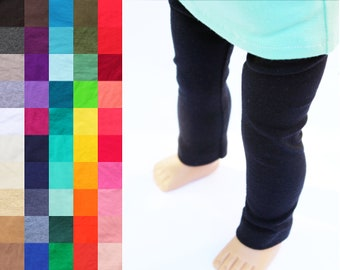 Fits like American Girl Doll Clothes - Leggings, You Choose Color and Length   18 Inch Doll Clothes