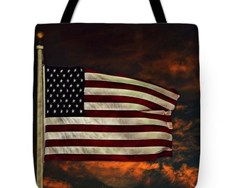 Twilights Last Gleaming Tote Bag