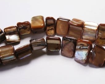 Pearl beads, 38cm, your coffee