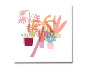 Greeting Card - Conservatory