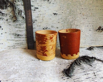 Cups made of birch bark (0.25l.)