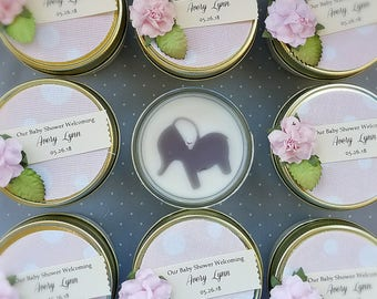 Girl Baby Shower | Baby Girl Elephant Shower | Pink Bubbles | My Peanut | Gray Elephant | Pink Baby Shower | Baby Elephant