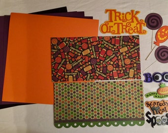 Trick or Treat Scrapbooking Kit