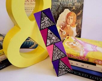 Bookmark ~ Triangle Stack