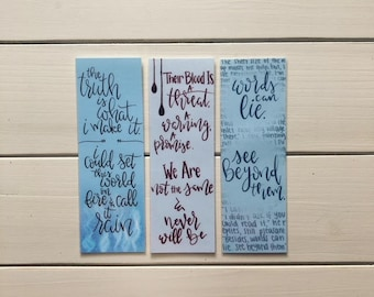 Red Queen Bookmarks