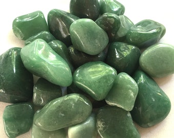 Tumbled Green Aventurine from Brazil