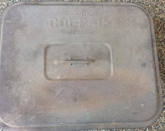 Vintage Atlantic Col-Pac Tin Box with Lid