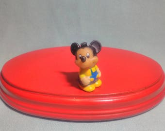 Disney Mickey figure, without mark, of the 70s, in Goma.