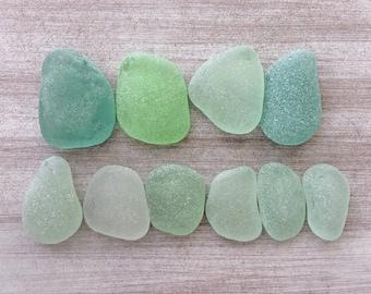 Genuine Sea Glass Bulk, Jewelry Quality Light Blue Green White Sea Glass, Beach Glass, Jewelry Making, Sea Glass Art JQ010.02