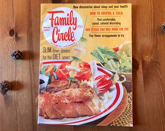 Vintage Family Circle magazine - March 1964