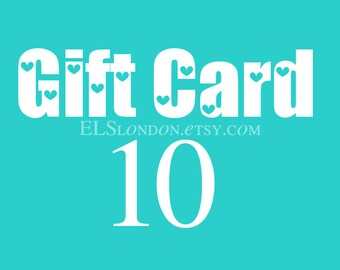 Gift card, gift certificate, voucher gift, gift for best friend, birthday gift for her, instant download card, jewellery gift
