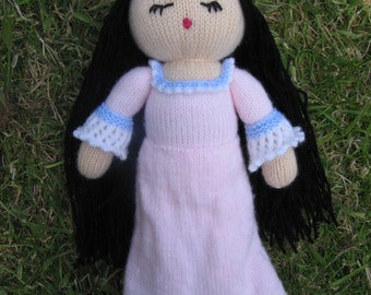 PDF Knitting Pattern - The Sleepy Princess