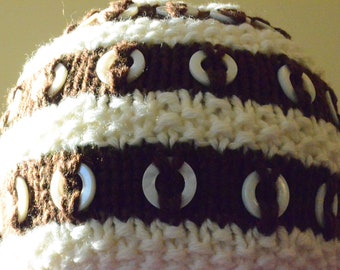 Cookies and Cream Stripes Hat