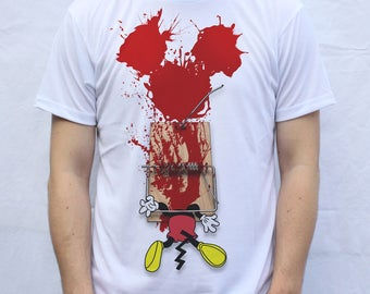 Mickey Trapped  T shirt