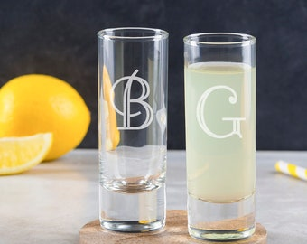 Personalised Initial Shot Glass - Personalised Shot Glass