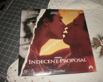 Indecent Proposal Laserdisc sealed Robert Redford, Demi Moore, Woody Harrelson 1993 movie