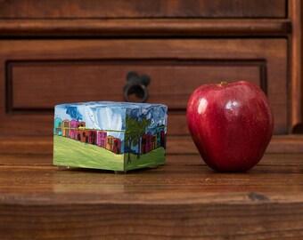 AGOTADA Caja, Box, Serie Pueblitos, ITARTI, #ITARTIartesanal #ITARTIsignificando