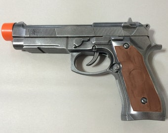 Lara Croft Gray and Brown Cosplay Pistol