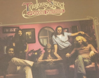 The Doobie Brothers record album, Doobie Brothers Toulouse Street vintage vinyl record