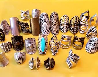Rings, Boho Rings, Boho Silver Ring, Long Rings, Ethnic Rings, Bohemian, Gypsy Rings, Knuckle rings, Silver Rings, Hippie Ring, Boho Jewelry