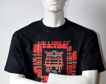 Dr Who - Dalek t-shirt - Dr Who shirt - Scottish alternative t-shirts