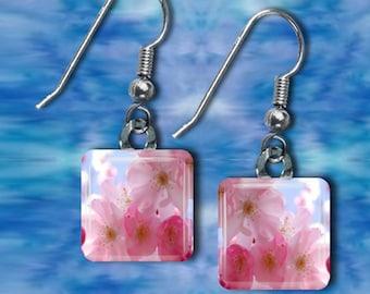 Cherry Blossom Earrings(ECuOr2.7)