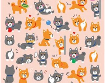 Kawaii Dogs Decorative Stickers Seals
