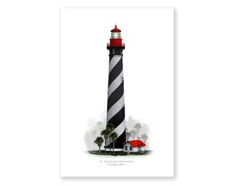 "St. Augustine Lighthouse ""Fog"""